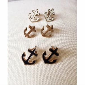 Jewelry - Anchor Studs ⚓️ Set of 3